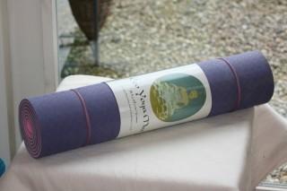 Eco Yoga Mat lila