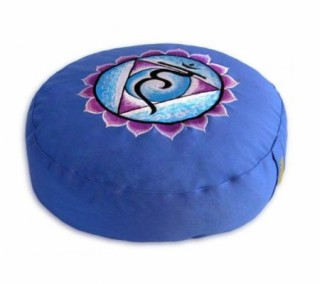 Meditatiekussen 5e chakra