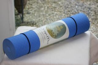 Eco Yoga Mat blauw