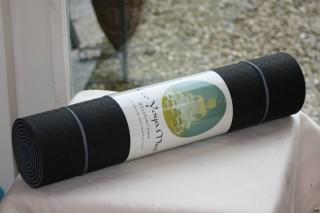 Eco Yoga Mat zwart